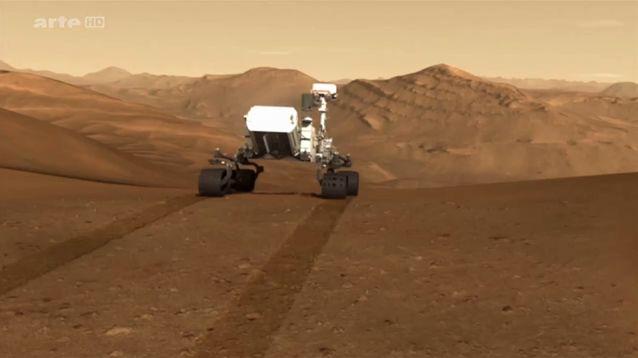 Mars, à la recherche de la vie