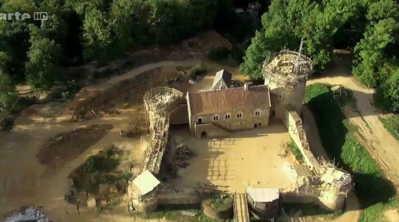 guedelon la renaissance d un chateau medieval