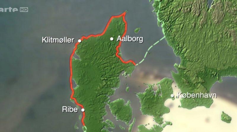 les rivages de la mer du nord a velo de romo a grenao