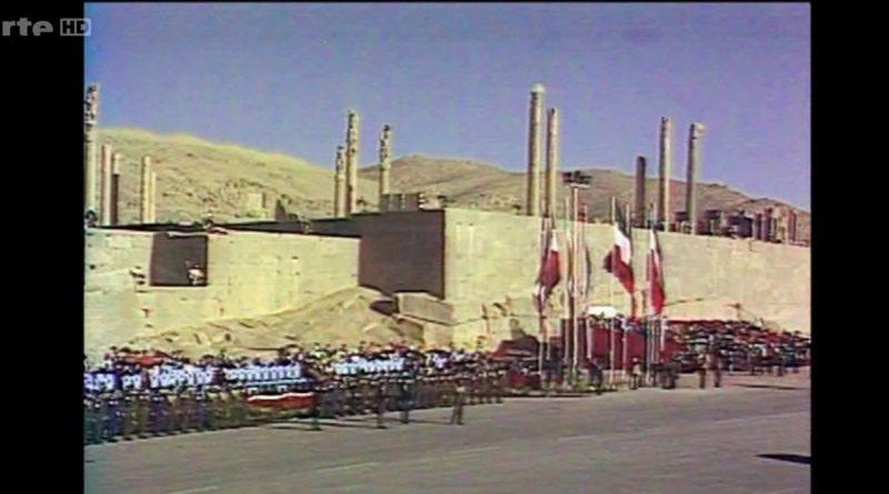mysteres d archives 1971 les fastes du shah d iran a persepolis