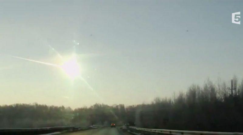 Pluie de météorites sur l'Oural